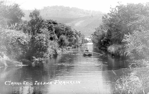 Egg Island Canal in 1920